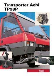 Transporter Aebi TP98P - Gp1.ro