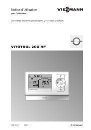 Viessmann Vitotrol 200 RF