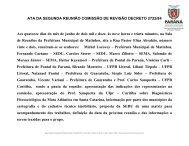 ATA DA SEGUNDA REUNIÃO COMISSÃO DE REVISÃO ... - COLIT