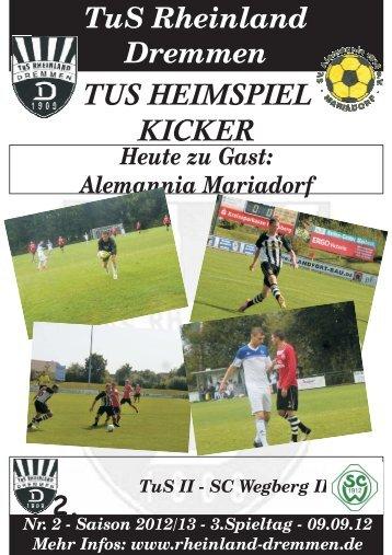 kicker - TuS Rheinland Dremmen