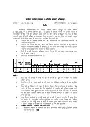 Vacancy Information for the patwari ,at Land Record ... - Surguja