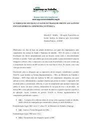 As normas de SST frente aos agentes fiscalizadores - Segurança no ...