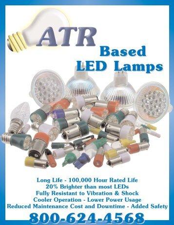 2007 Based LED PRICELESS.pdf - ATR Lighting Enterprises Inc.  sc 1 st  Yumpu & T3 1/4 MB Base LED Lamps - ATR Lighting Enterprises Inc. azcodes.com