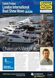 Chairman'sWelcome - London Boat Show