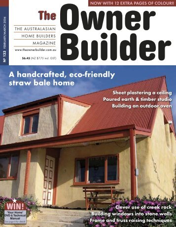 TOB 2006 #133 to #138 - The Owner Builder