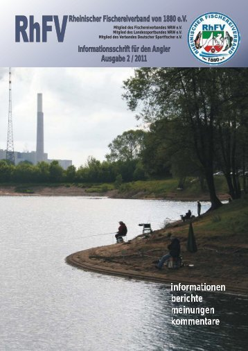 mitgliederversammlung 2011 - Rheinischer Fischereiverband von ...