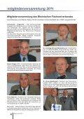 mitgliederversammlung 2011 - Rheinischer Fischereiverband von ... - Seite 6