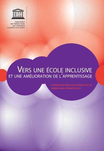 école inclusive - unesdoc - Unesco