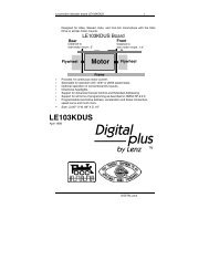 LE103KDUS - Lenz USA