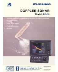 DOPPLER SONAR Model DS-30