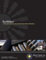about evacuated tube collectors - SunMaxx Solar
