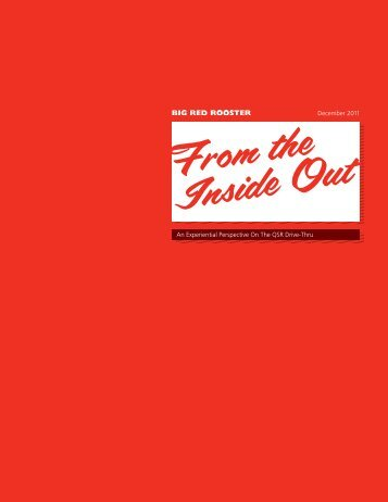 From the Inside Out - Big Red Rooster