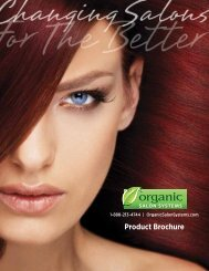 Product Brochure - Organic Hair Color for Salon Professionals