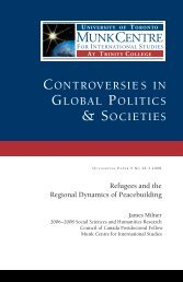 Refugees and the Regional Dynamics of Peacebuilding