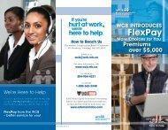 WCB FlexPay brochure