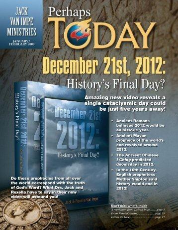 January–February 2008 - Jack Van Impe Ministries