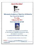 December 2012 Newsletter - Minnesota Academy of Nutrition and ... - Page 4