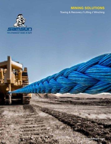 Mining Brochure - Samson Rope