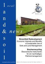 Brownfield Redevelopment - European Land and Soil Alliance (ELSA)