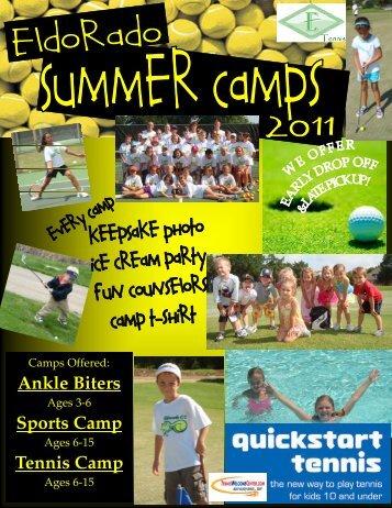 Tennis Camp