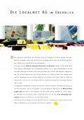 Geschäftsbericht 2004 (pdf) - Localnet AG - Page 6