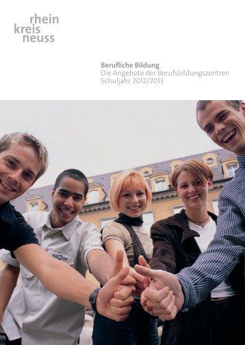 Wegbegleiter ins Berufsleben - Rhein-Kreis Neuss