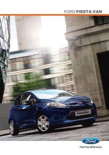 Brochure Fiesta Van (PDF) - Ford