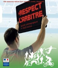 Respect l'arbitre - DRJSCS Région Centre