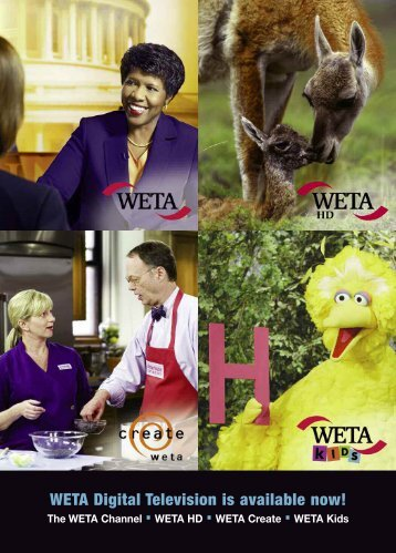 WETA Digital Television is available now!