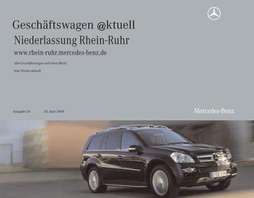 Gebrauchtwagen @ktuell - Mercedes-Benz Niederlassung Rhein ...