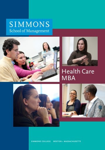 Health Care MBA - Simmons College