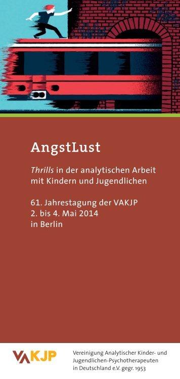 Tagungsprogramm (pdf) - Vereinigung Analytischer Kinder