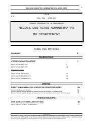 Visualisez le numéro au format PDF - Le Conseil Général de la ...