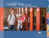 College Prep Hand Book - EducationQuest Foundation