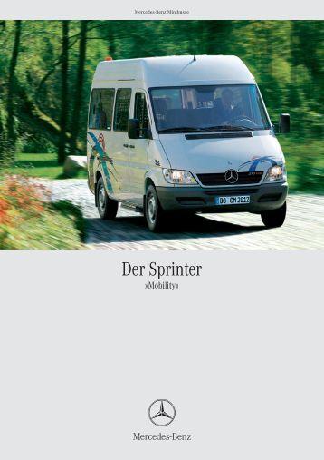 sprinter kombi datenblatt pdf kb mercedes benz. Black Bedroom Furniture Sets. Home Design Ideas