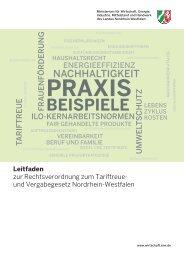 Leitfaden RVO TVgG NRW (419.46 KB) - Nordrhein-Westfalen direkt