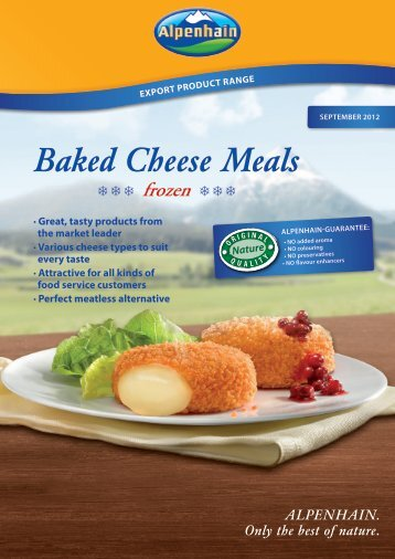 Baked Cheese Meals - Alpenhain