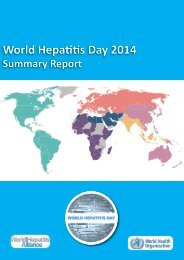 World+Hepatitis+Day+2014+Summary+Report