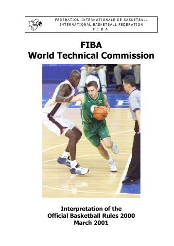 2. Interpretation of the Official Basketball Rules 2000 (March 2001)