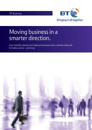 Mobile Workforce Solutions White paper - BT Business