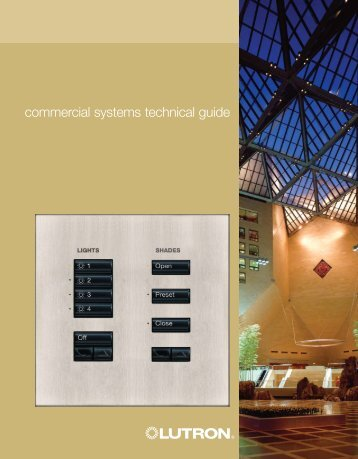 commercial systems technical guide - Lutron