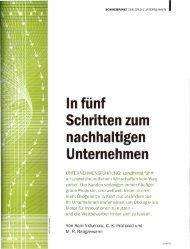 I In fünf Schritten zum nachhaltigen Unternehmen - de.intercul.com