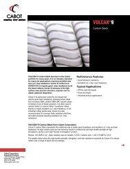 Vulcan ® 9 N110 - Cabot Corporation