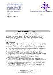 Programm-Info 01/2009 - Rhein-Erft-Kreis