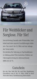 Flyer Verteiler Abverkaufsaktion März.indd - Mercedes-Benz ...