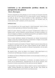 Laicismo y su plasmación jurídica desde la ... - Europa Laica