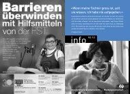 PDF 2.8 MB - Schweizerische Gesellschaft für Muskelkranke (SGMK)