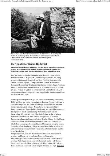 Der protestantische Buddhist