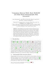 Comparison Between Wolfe, Boyd, BI-RADS and Tabár Based ...