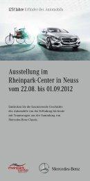 Info Flyer Rheinpark-Center - Mercedes-Benz Niederlassung Rhein ...
